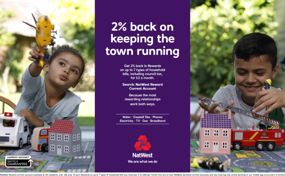 NATWEST -TV commercial and stills campaign