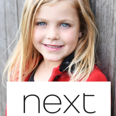 BECOME A CHILD MODEL FOR NEXT