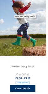 little bird mothercare
