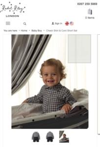 Rachel Riley Baby Model
