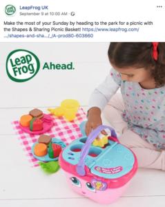 Leap Frog Child Model