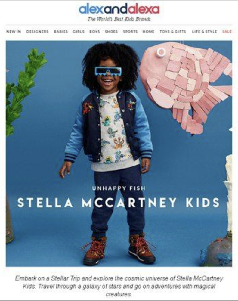Kids Modelling for Stella McCartney