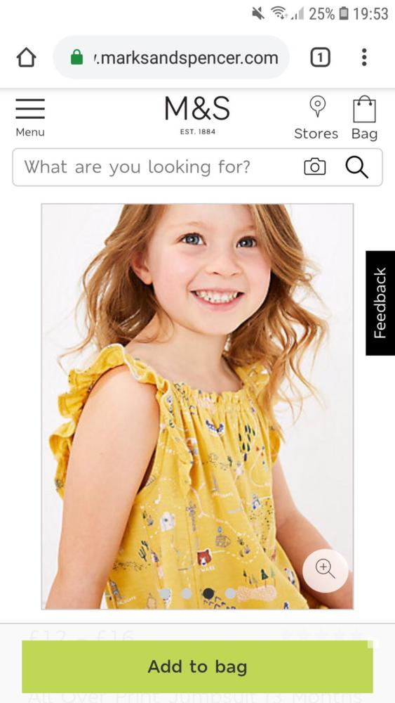 Become a Child Model for Marks and Spencer!