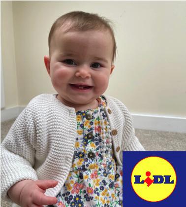 Baby modelling for tv advert