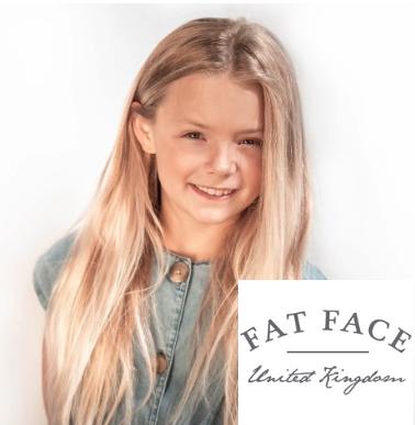 Lacara model for Fatface