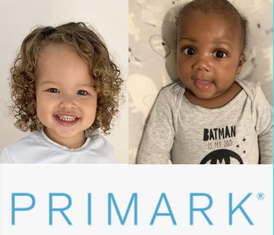 baby modelling for primark